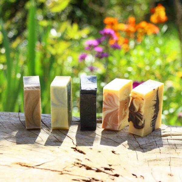 5 savons à froids surgras fabrication artisanale à Arles