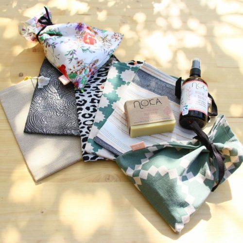 Pochette cadeau zéro déchet